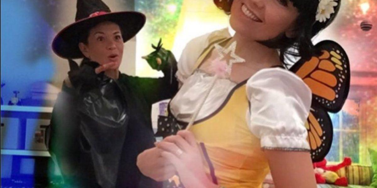 Thalía y Yolanda Andrade se adelantan a Halloween