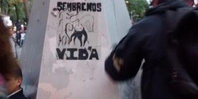 GDF Reporta saldo blanco en marcha de apoyo a estudiantes de Ayotzinapa