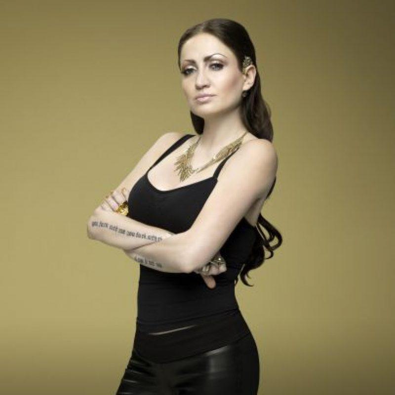 Celia Lora,hija de Alex Lora, vocalista de El Tri. Foto:Cortesía