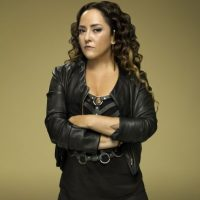 Esmeralda Palacios, esposa de Facundo Gómez Brueda, ex vocalista de Liquits y presentador de la TV mexicana. Foto:Cortesía