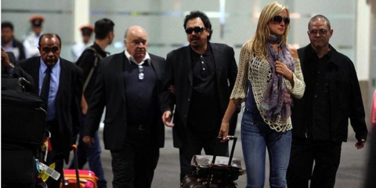 Hugo Sánchez llegó a México para funeral de su hijo