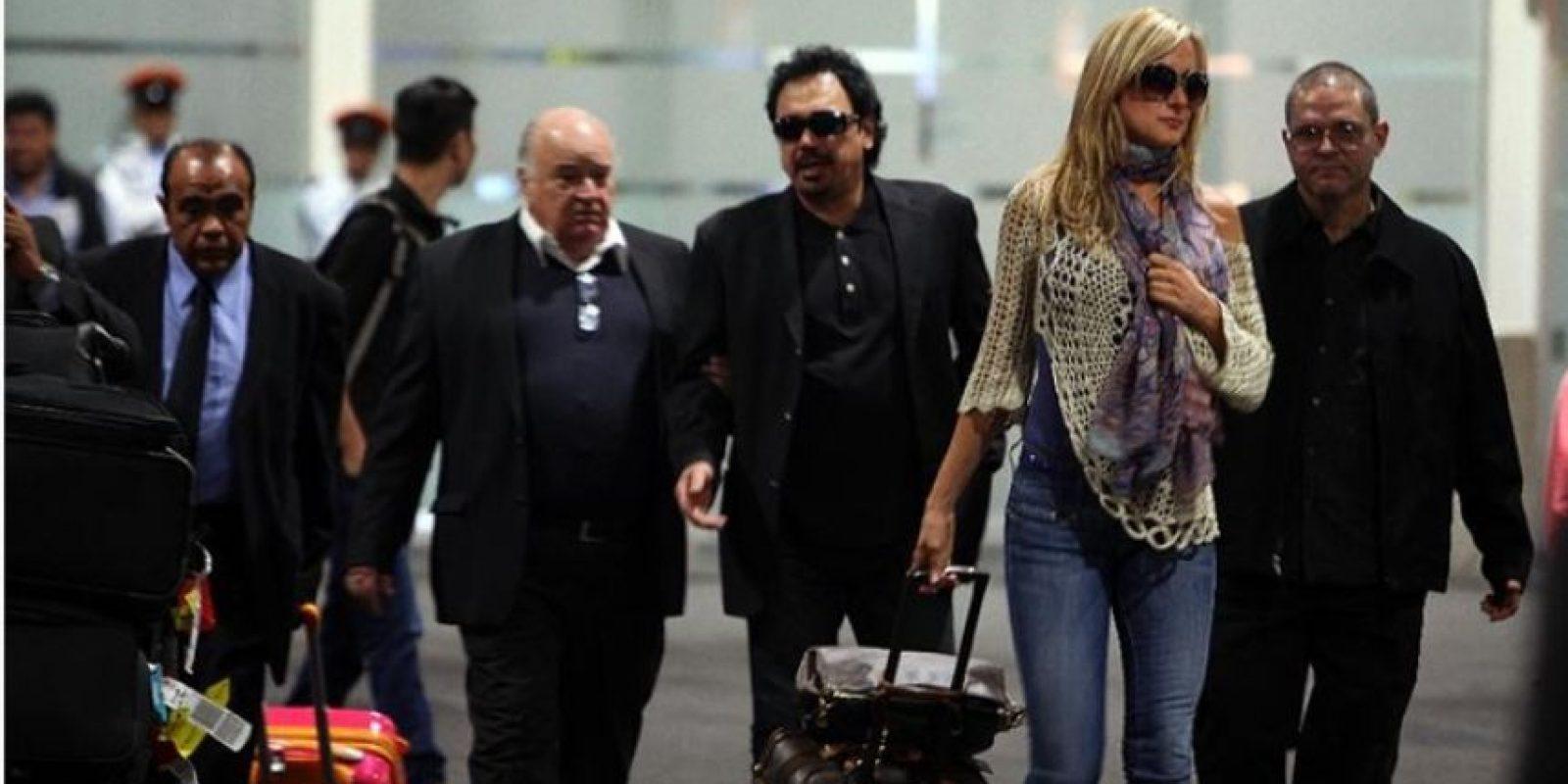 Hugo Sánchez arriba a la Ciudad de México para el funeral de su hijo Foto:El Universal. Imagen Por: