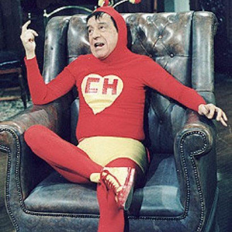 """Un superhéroe que solía """"salvar las situaciones"""", a veces por suerte, a veces por su talento. Foto:Facebook/Roberto Gómez Bolaños"""