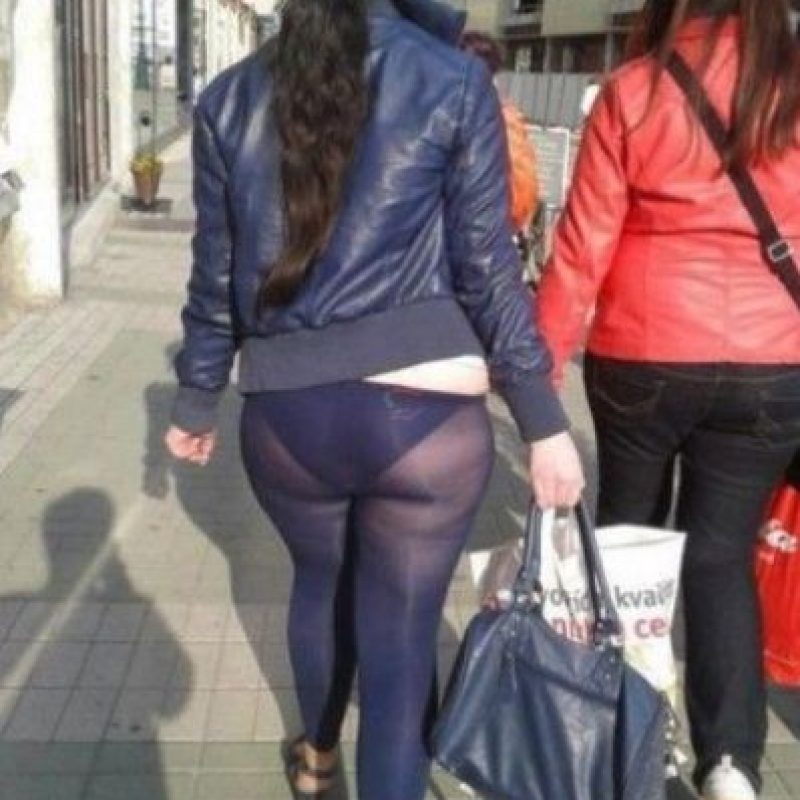 Los transparentes son los peores Foto: Pinterest/Fashion Fail