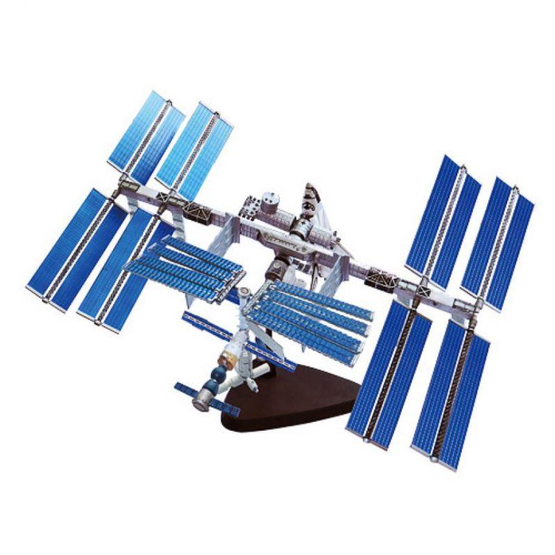 Estación espacial – ¿Cuáles son los nombres de los tres Reyes Magos? Foto:Especial