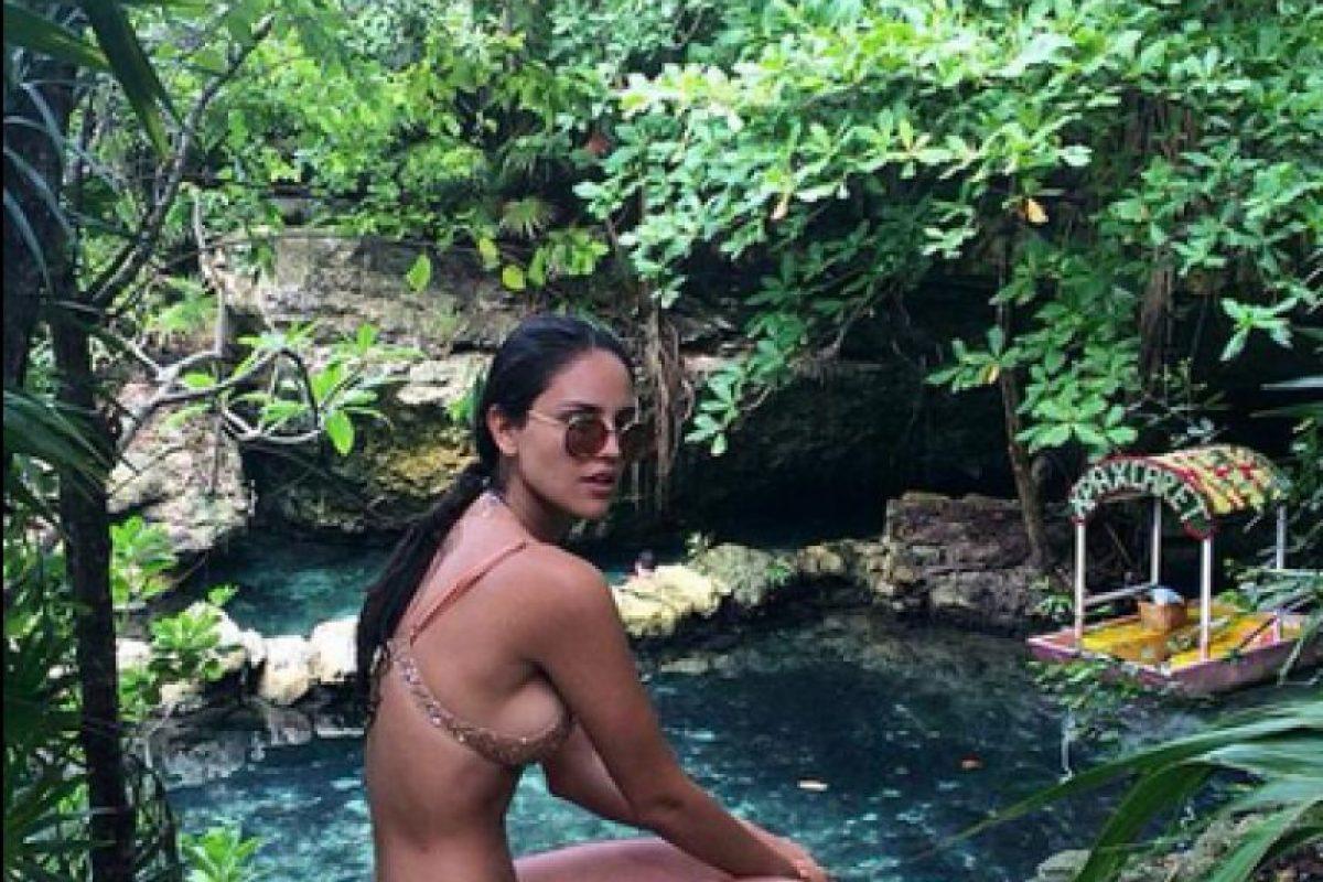 Ana Claudia Talancon Instagram fotos: ¡en bikini! eiza gonzález mostró su esbelta figura en