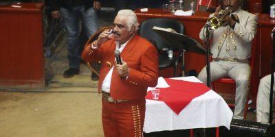 Para finales de año o principios de 2016, el concierto de Vicente Fernández en el Zócalo