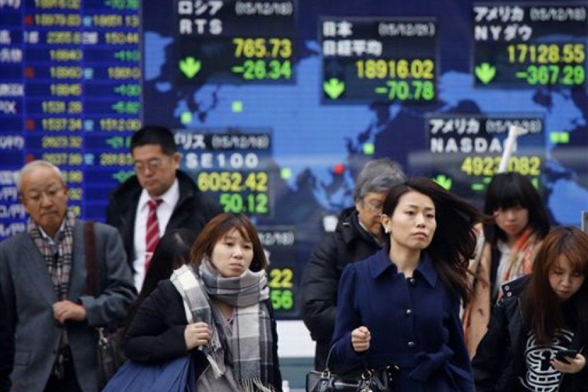 Caen acciones en Japón Foto:AP