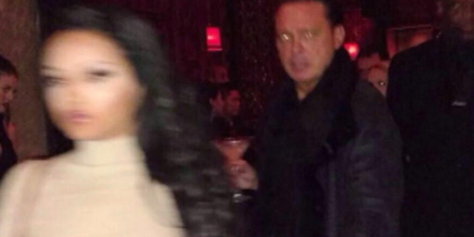 Así cacharon a Luis Miguel en un centro de entretenimiento de Las Vegas. Foto:TV Azteca