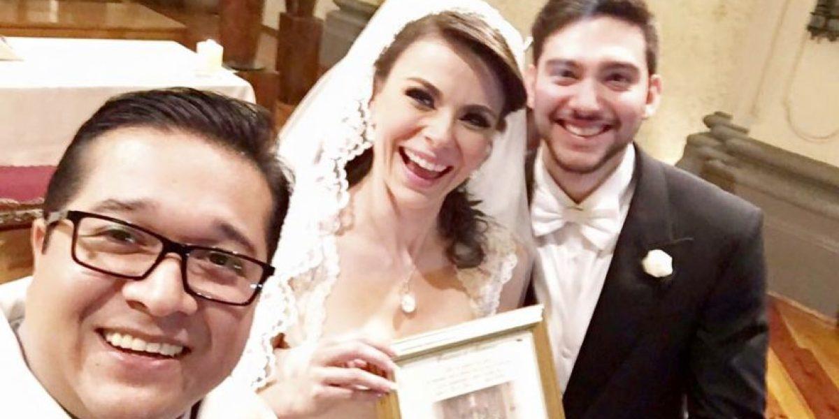 FOTOS: Así fue la boda de Arlett Fernández, la chica del clima de Milenio TV