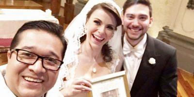 Así fue la boda de Arlett Fernández, la chica del clima