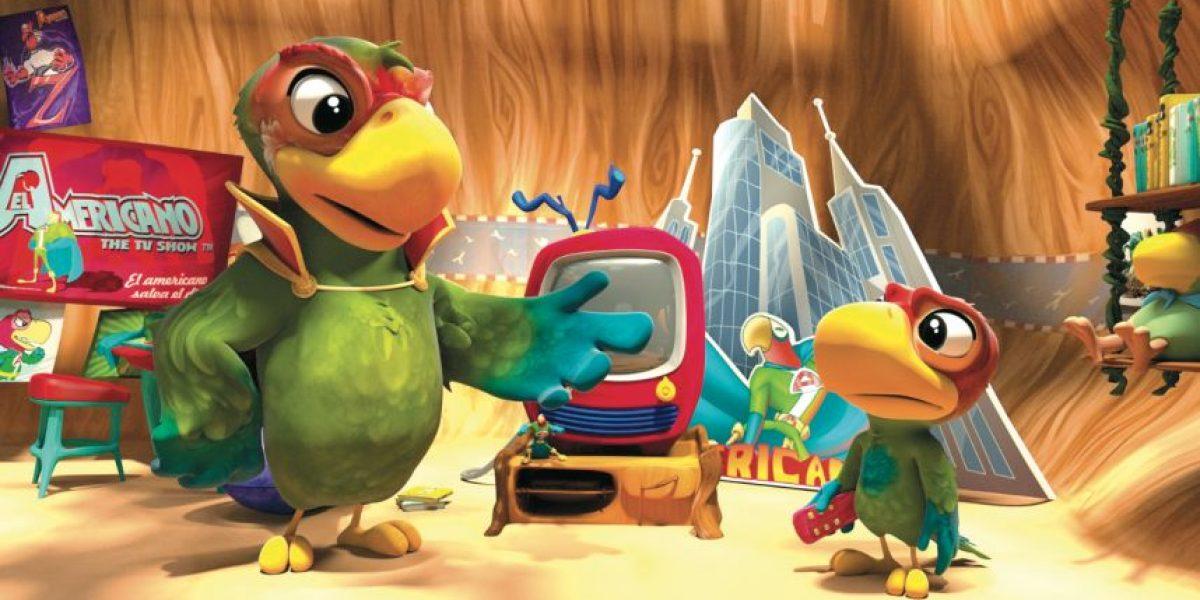 El Americano, la película animada infantil que destaca el poder de los mexicanos