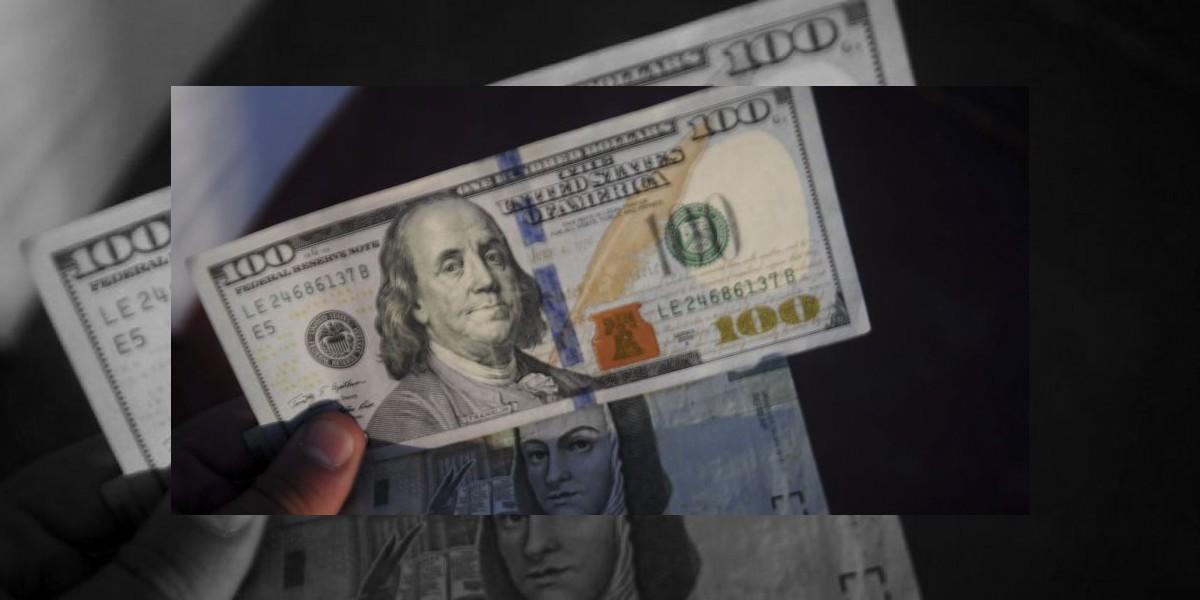 Dólar cierra semana con descenso, se vende en $18.45 en bancos