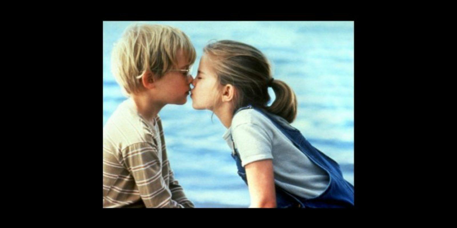 """""""Mi primer beso"""" Foto:IMDb"""