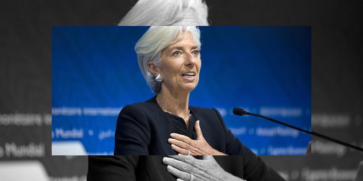 Christine Lagarde renueva mandato como directora del FMI