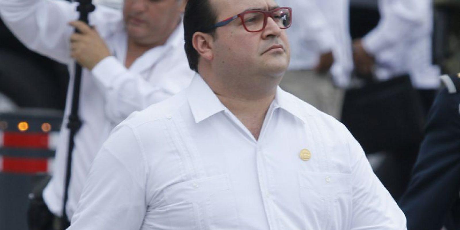 Javier Duarte, @Javier_Duarte (PRI), gobernador de Veracruz. Foto:Cuartoscuro