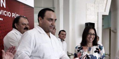 Roberto Borge, @betoborge (PRI), gobernador de Quintana Roo. Foto:Cuartoscuro