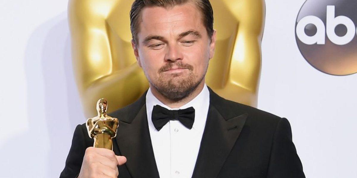 Leonardo DiCaprio rompe récord en Twitter tras ganar el Oscar