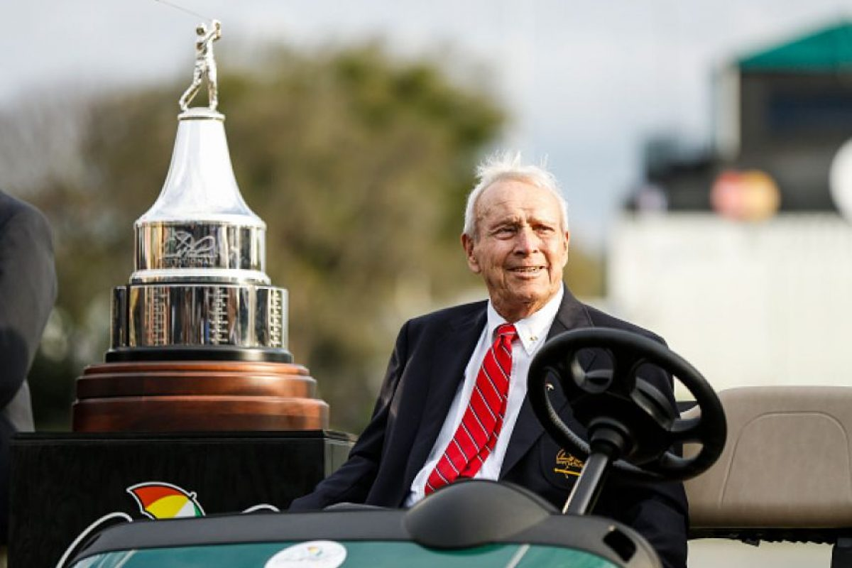 3. Arnold Palmer, 40 mdd. Foto: Getty Images