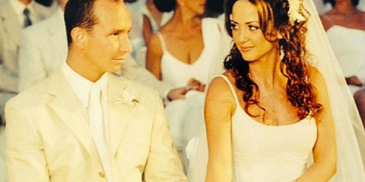Andrea Legarreta y Erik Rubín celebran 16 años de casados