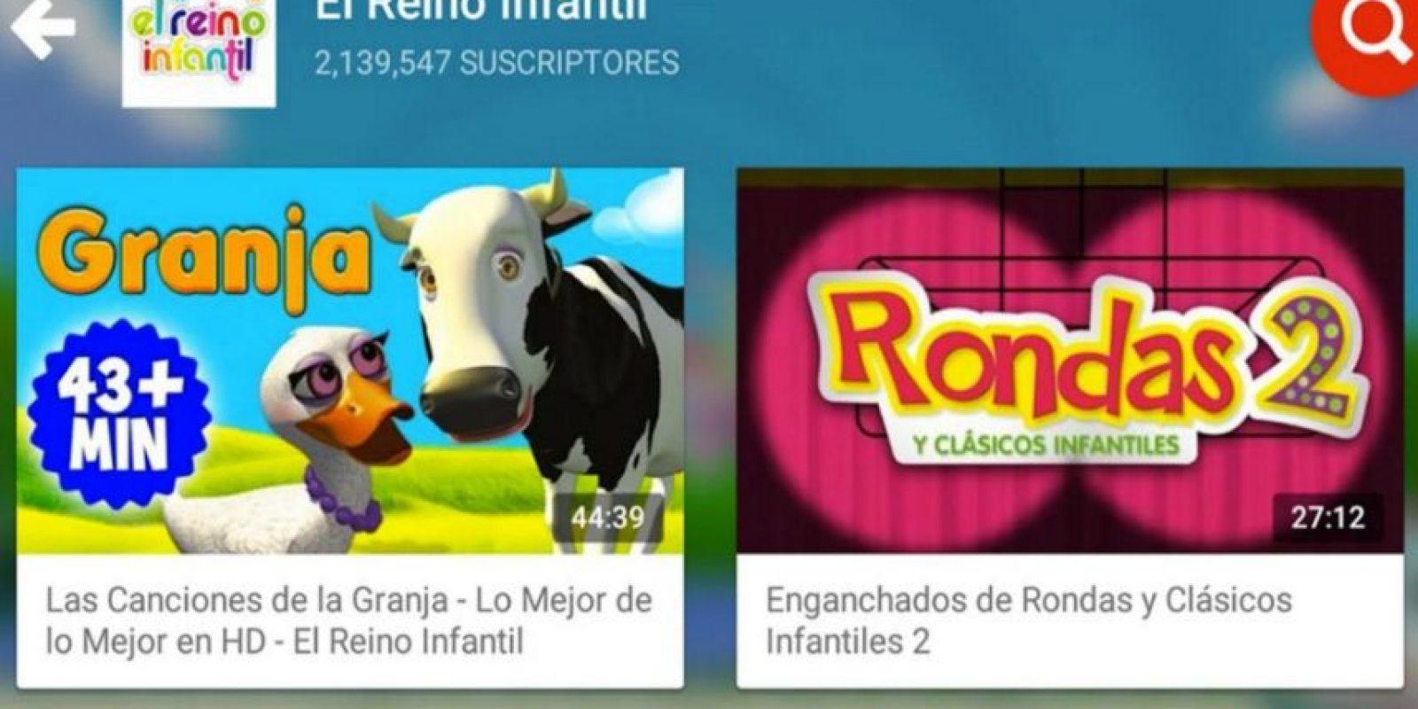 La aplicación tendrá mucho contenido especial para niños. Foto:YouTube