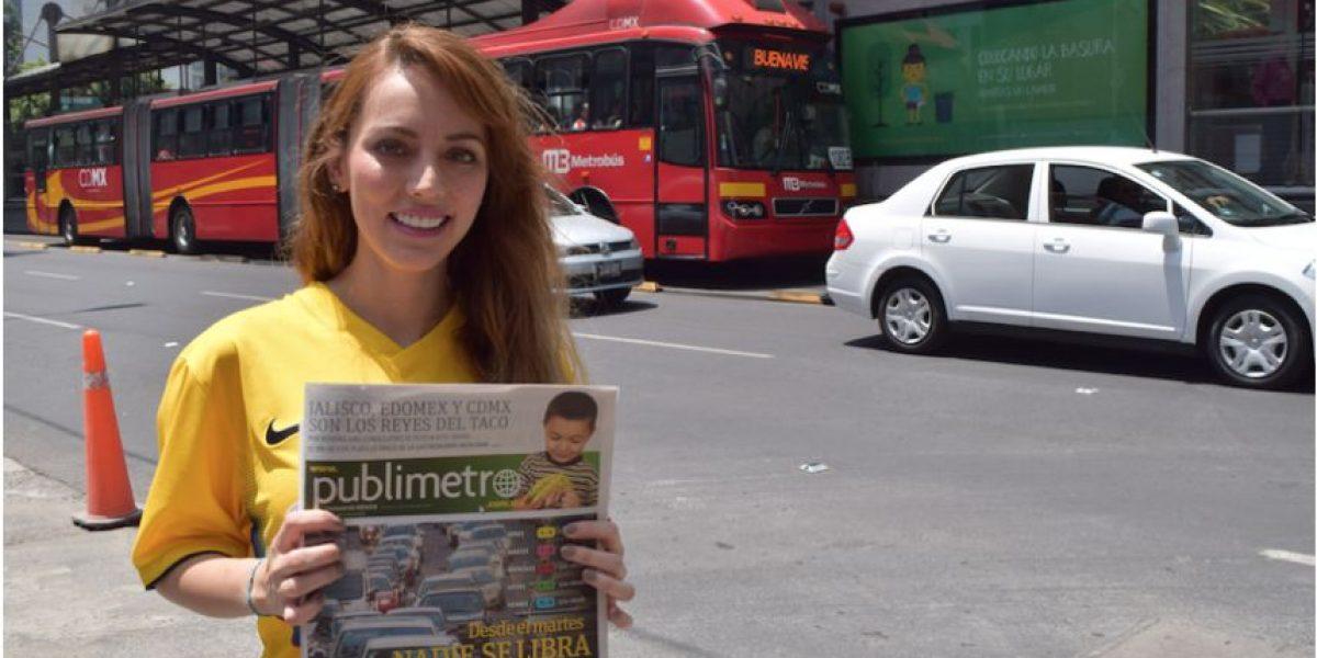 VIDEO: María Magaña, la periodista deportiva que pagó su apuesta del Clásico