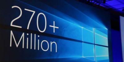 Más de 270 millones de usuarios han instalado Windows 10 en sus dispositivos. Foto:Tumblr