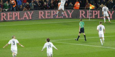 """""""Cristiano Ronaldo sólo le marca a equipos chicos"""", aseguran los detractores del portugués. Foto:AFP"""
