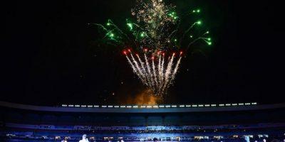 El encuentro amistoso presumió una producción bastante llamativa Foto:Mexsport
