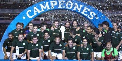 Las Leyendas mexicanas se alzaron con el triunfo en el Estadio Corregidora Foto:Mexsport