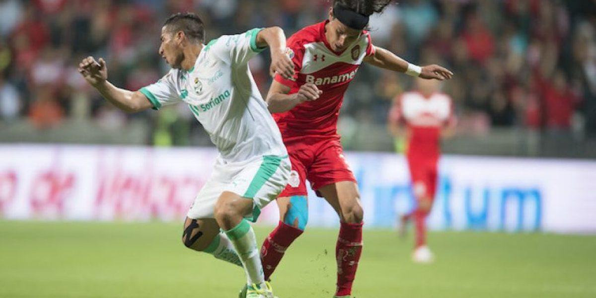Toluca y Santos quedan a deber e igualan sin goles