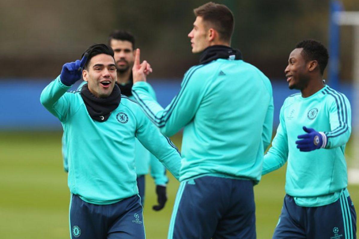 """El """"Tigre"""" no la pasa nada bien en Chelsea. Foto:Getty Images"""