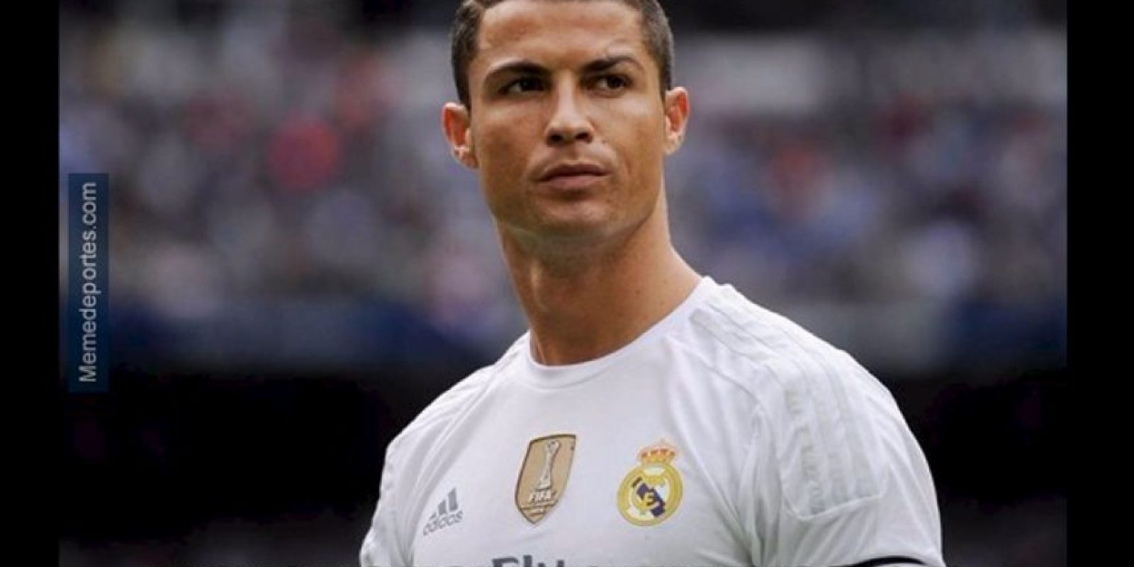 Cristiano Ronaldo llegaba con altas expectativas al Clásico. Foto:memedeportes.com