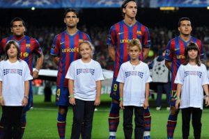 Rafael Márquez junto a Zlatan Ibrahimovic Foto:Getty Images