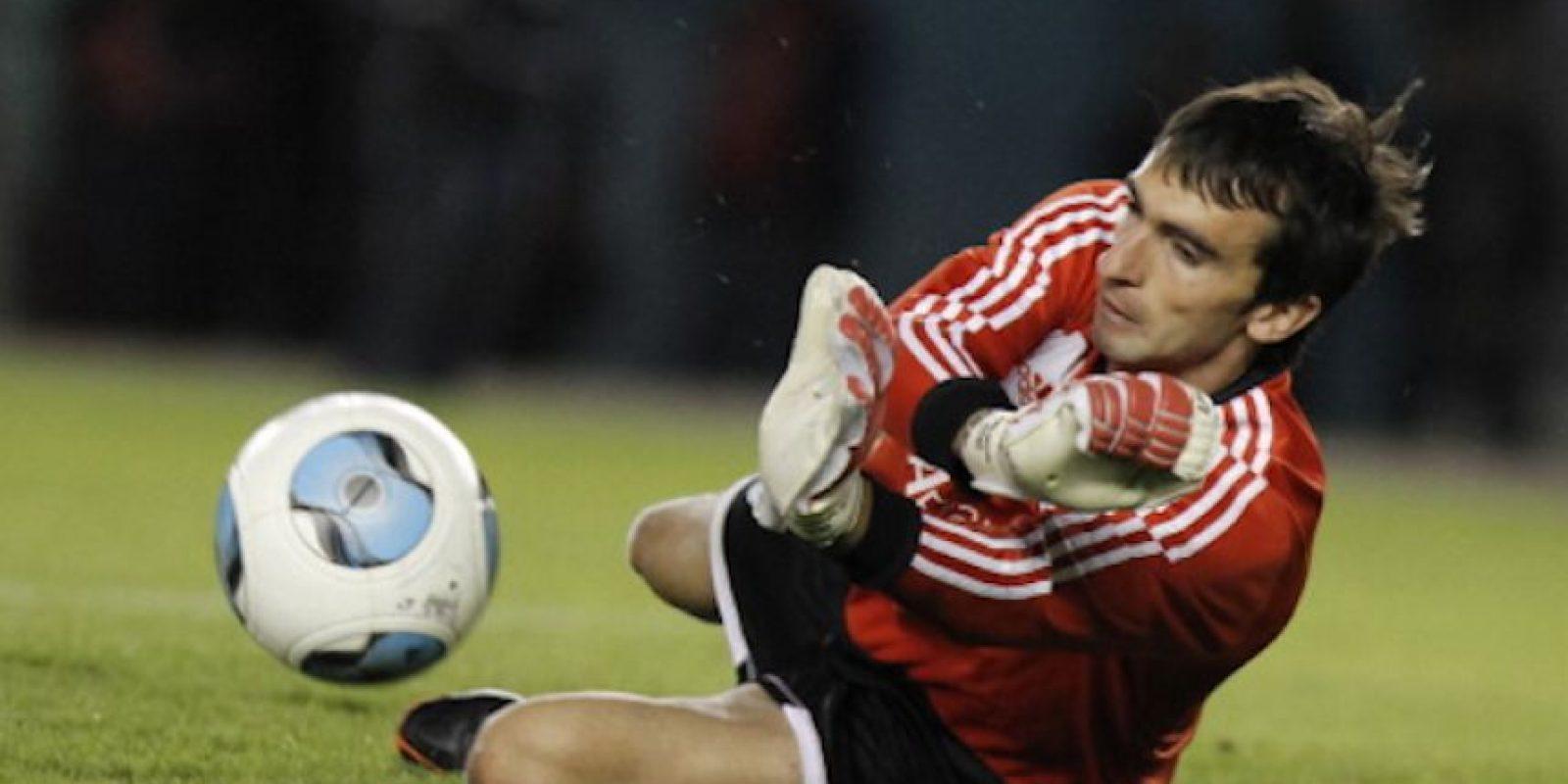 Marcelo Barovero, arquero de River Plate Foto:Getty Images