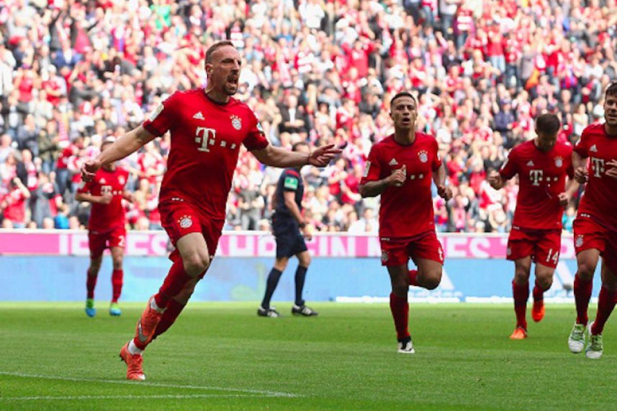 Ribery convirtió el único gol del encuentro Foto:Getty Images