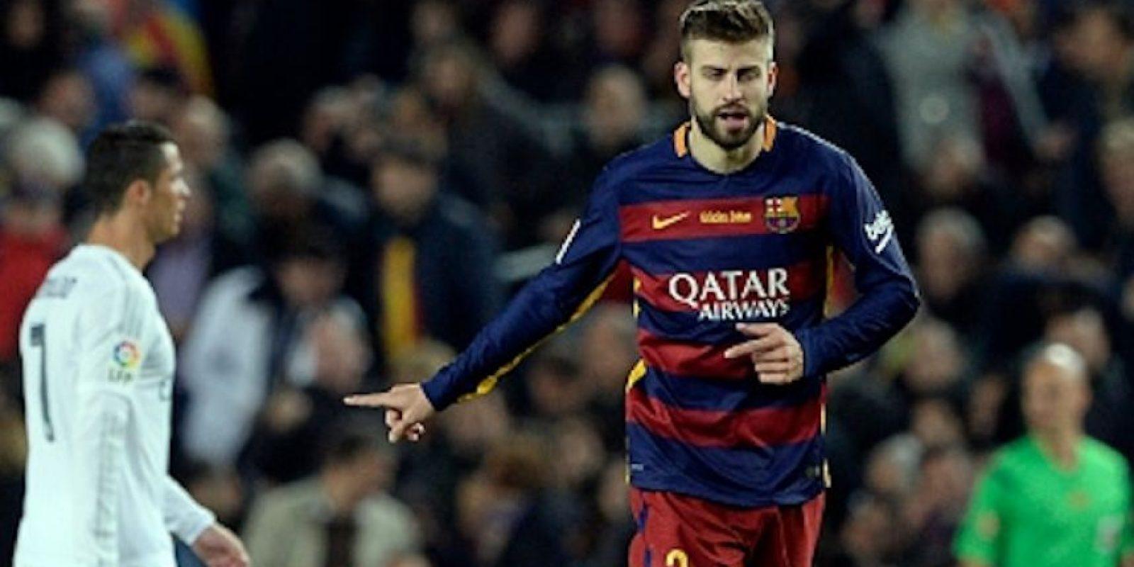 Gerard Piqué, defensa del Barcelona Foto:Getty Images