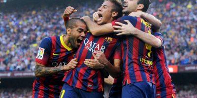 Barcelona llega como líder de la Liga BBVA. Foto:Getty Images