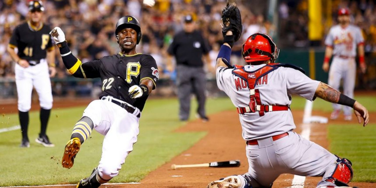 Opening Day MLB – St. Louis en Pittsburg Foto:Getty Images