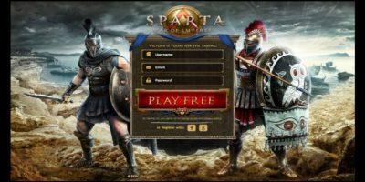 Jueguen en tiempo real con muchas personas. Foto:Sparta:war of empires