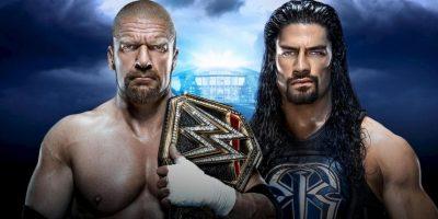 Campeonato Mundial Peso Pesado de la WWE: Triple H vs. Roman Reigns Foto:WWE