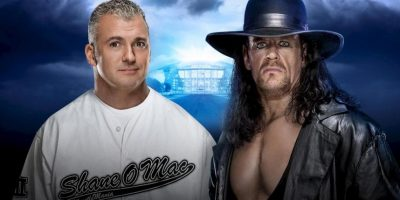 Hell in a Cell Match: Shane McMahon vs. The Undertaker Foto: WWE
