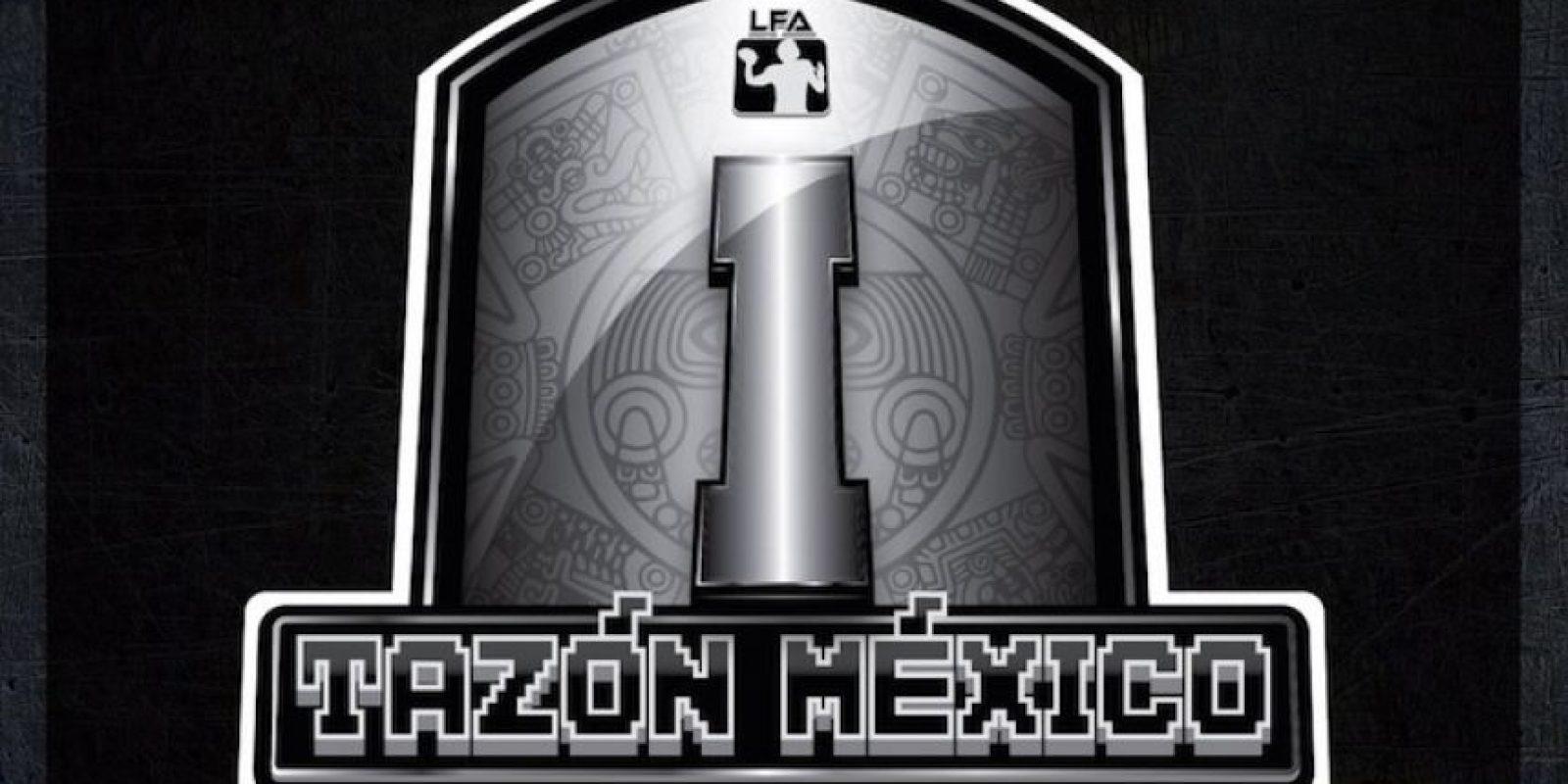 Esta es la imagen del Tazón México I Foto:Twitter: @LFAmex