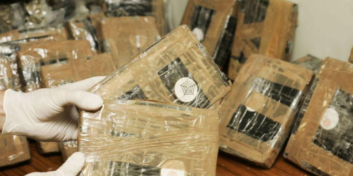 Detienen a 5 personas con 157 paquetes de cocaína en la CDMX