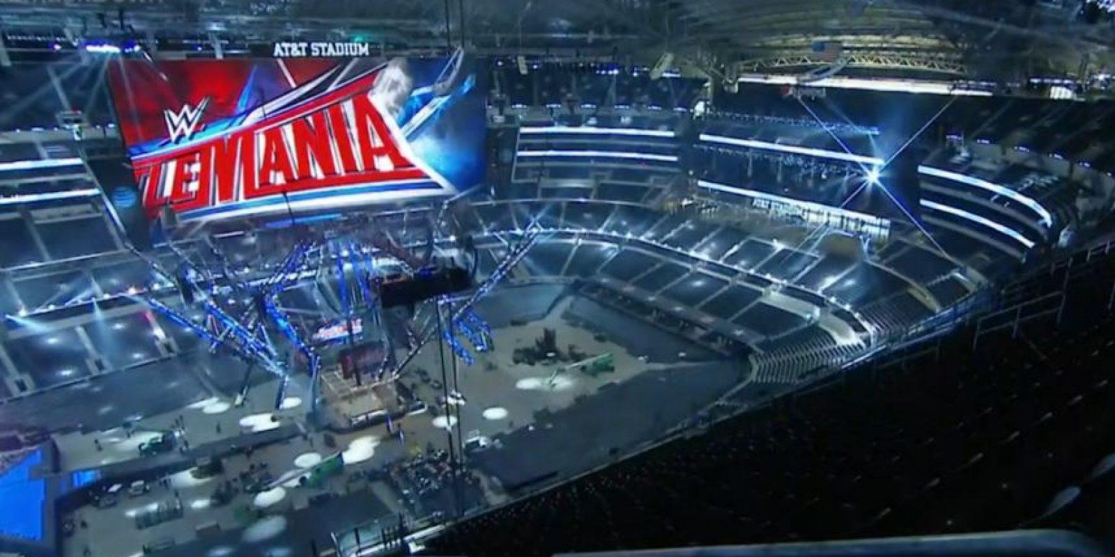 El AT&T Stadium será la sede de Wrestlemania 32. Foto:WWE
