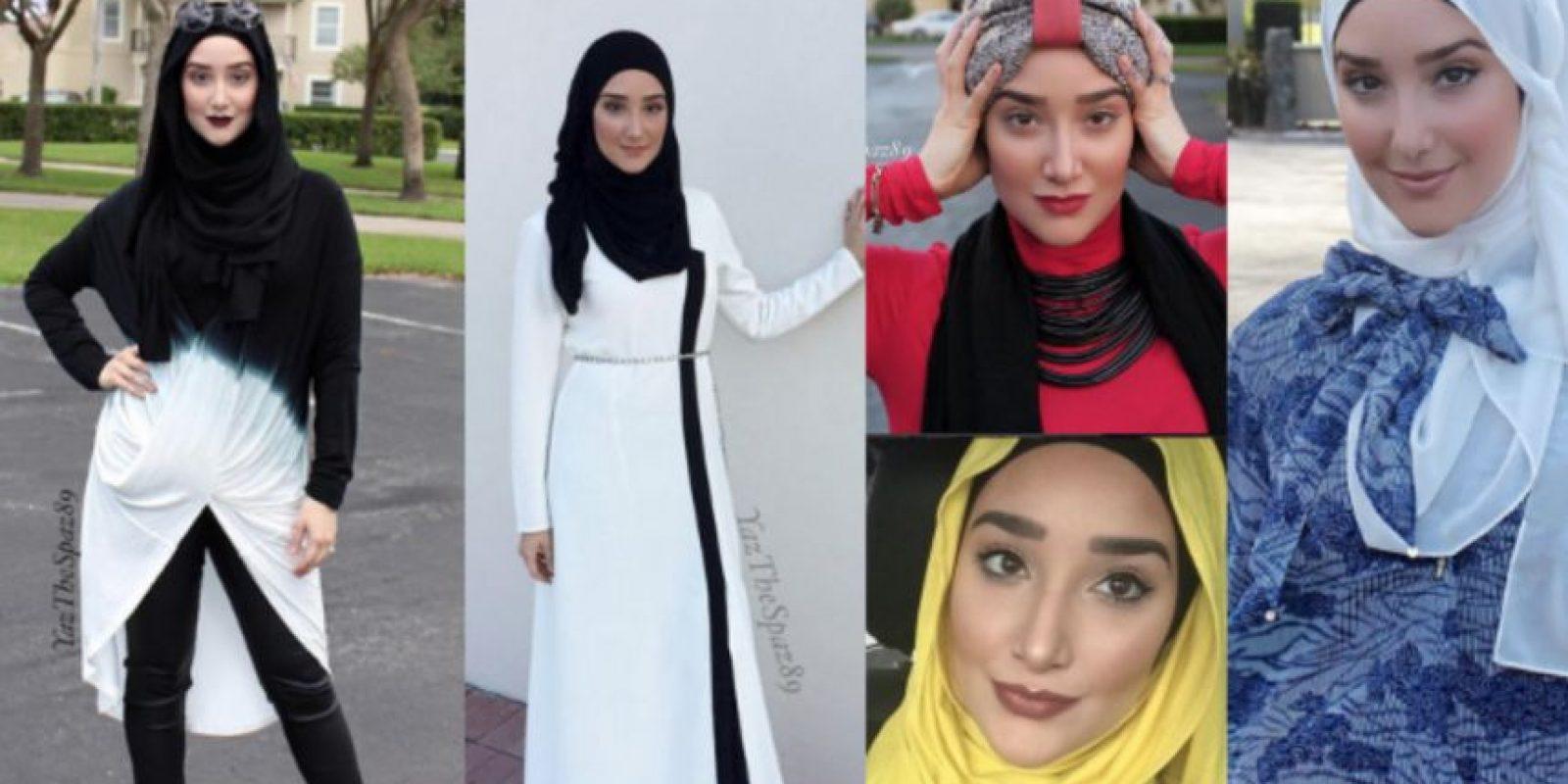 Yaz the Spaz. Es la vloguer más famosa del mundo fashion musulmán. Comenzó en 2010 con tutoriales sobre cómo ponerse el hijab. Foto:vía Instagram