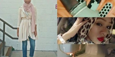 Nadira Abdul Quddus. Más que destacarse por su estilo, es famosa por sus DIY. Crea cualquier tipo de prenda con sus famosos tutoriales. Foto:vía Instagram