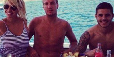 Entonces, Icardi era amigo de López y se reunía con la pareja con frecuencia. Foto:Vía twitter.com