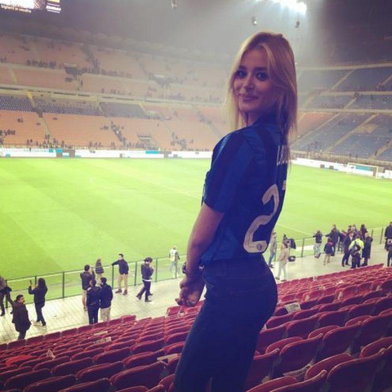 """Sofija Milosevic es la nueva """"musa"""" del Inter de Milán. Foto:Vía facebook.com/sofi.milo.5"""