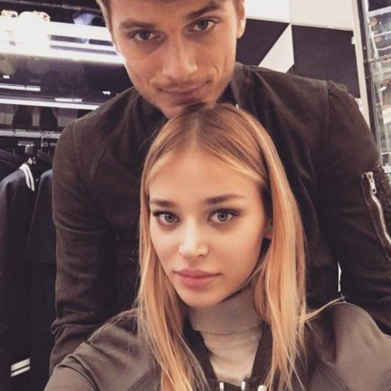 Pues desde hace dos meses es novia del delantero Adem Ljajic. Foto:Vía facebook.com/sofi.milo.5